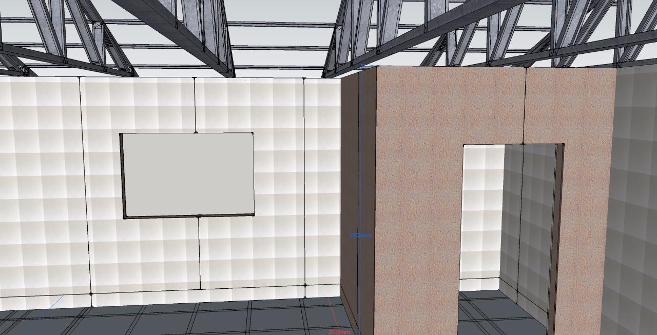 Windows for the atrium